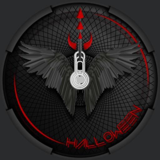 Halloween Black Red