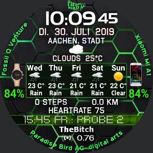 Green Hexagons 2