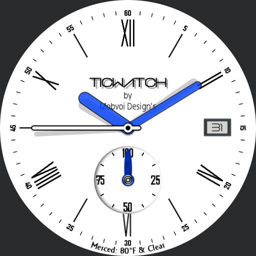 Simple Ticwatch