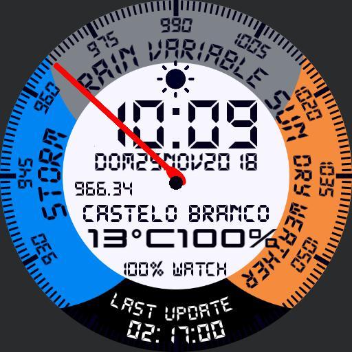 Barometer Samsung Gear S3 II