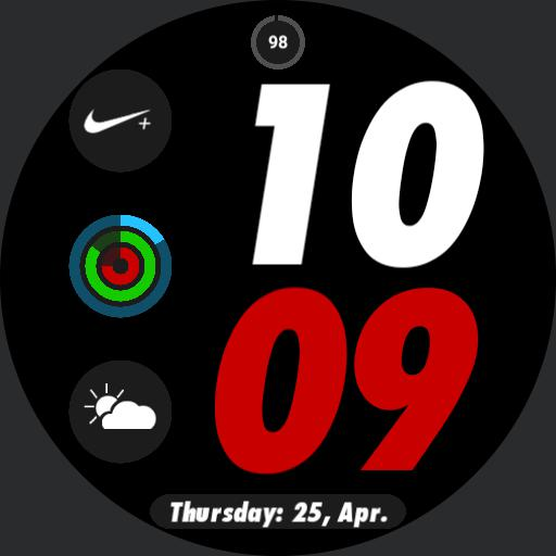 Apple Watch Nike Red