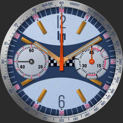 LIP Rallye 7733 Chronograph C.1960s