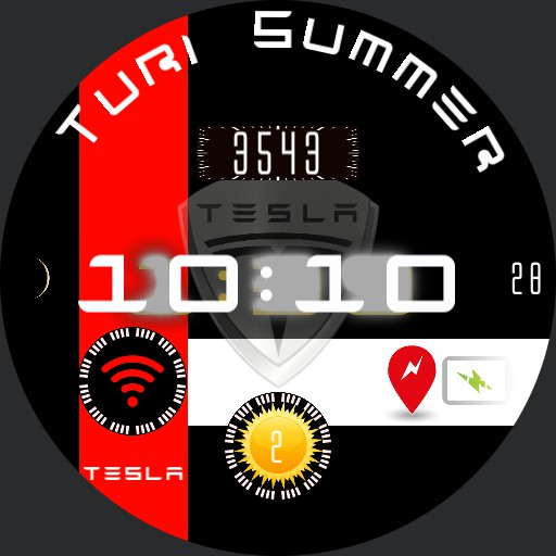 Reloj Tesla