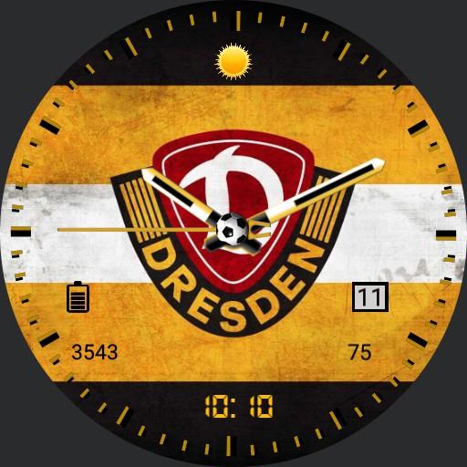 SG Dynamo Dresden Wall Analog