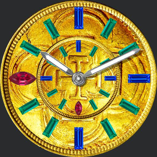 Custom - Gold Doubloon Wheel 1 - Dimmer
