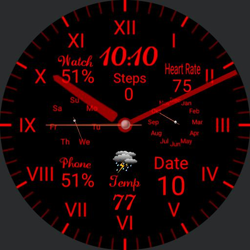 Red Viper Watches V.2 squire