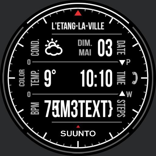 Benolf Ticwatch S multiface III