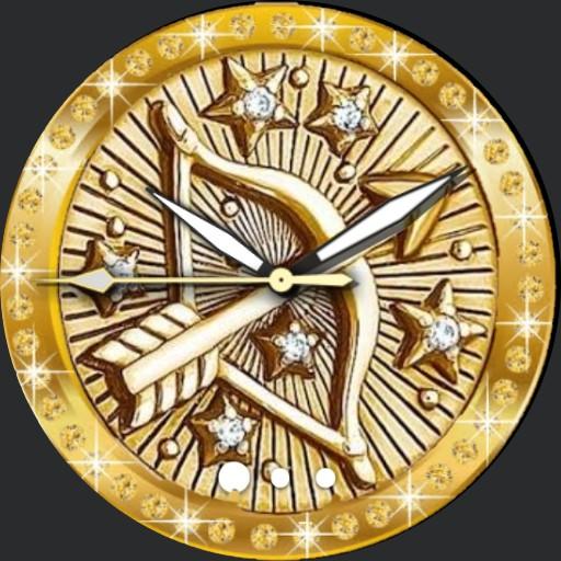 gold sagittarius