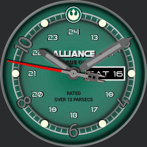 Alliance - Rogue One - based on the Nixon Star Wars Rogue One watch