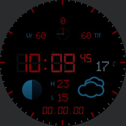 _BeoWatch, DANSK DANISH layout, low energy, inspired by BANG  OLUFSEN products  - . Made for free with love by gaugaugexi