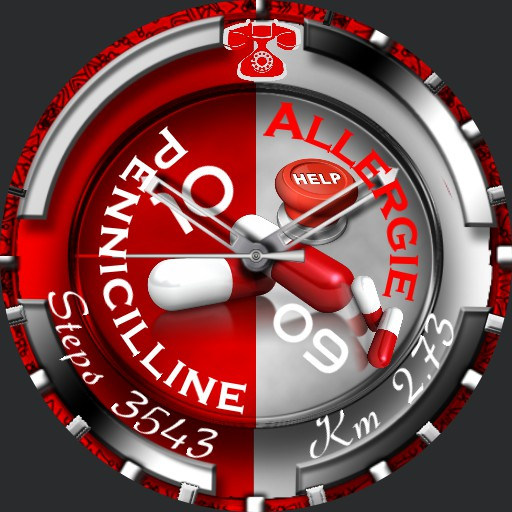 PENICILLINE   Allergie Slider  Animation