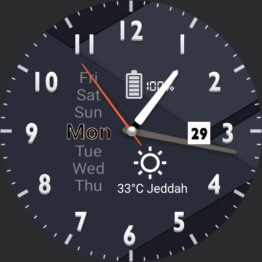 Blu-Palermo watch face Copy