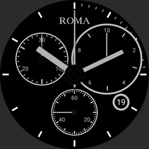 ROMA Ceramic Chronograph