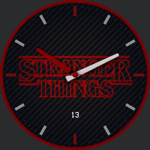 Stranger Things Carbon Red Ring
