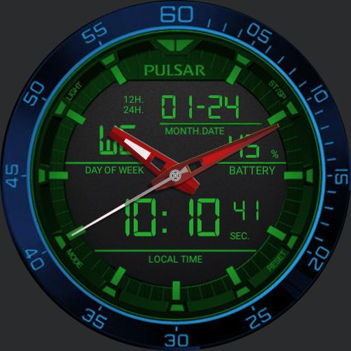 Pulsar blue