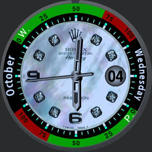 Face 8. 8 Central watch faces.