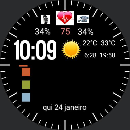 Calendar Watch plus