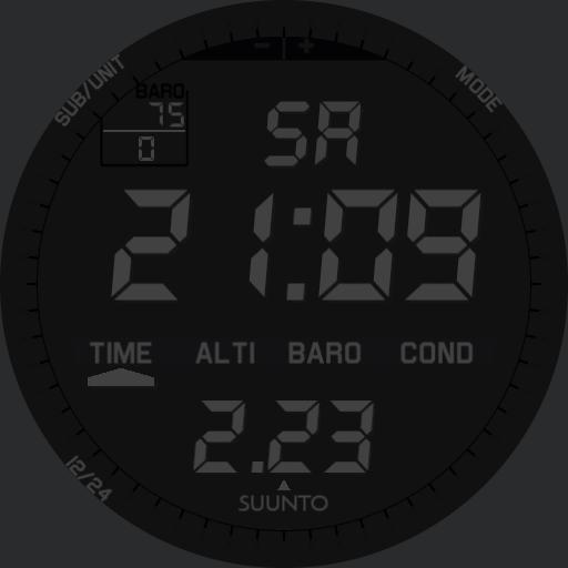 Suunto Vector X-Black Custom MkII