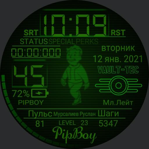 PipBoy watch Ruslan