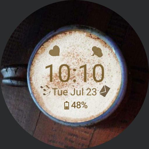 Latte Art 2 Coffee Cups