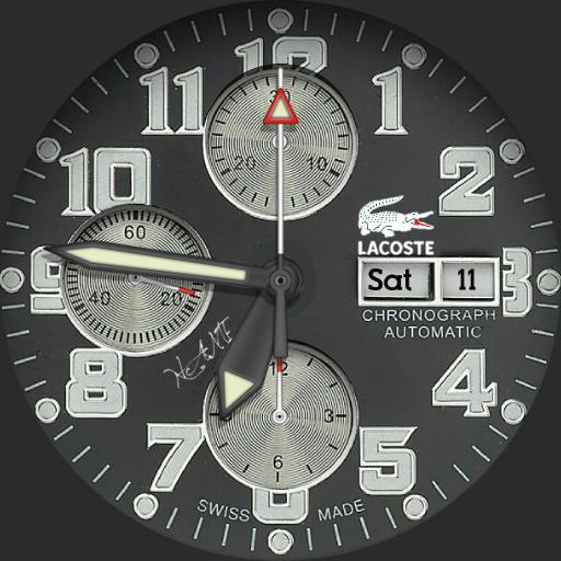 lacoste chrono personal