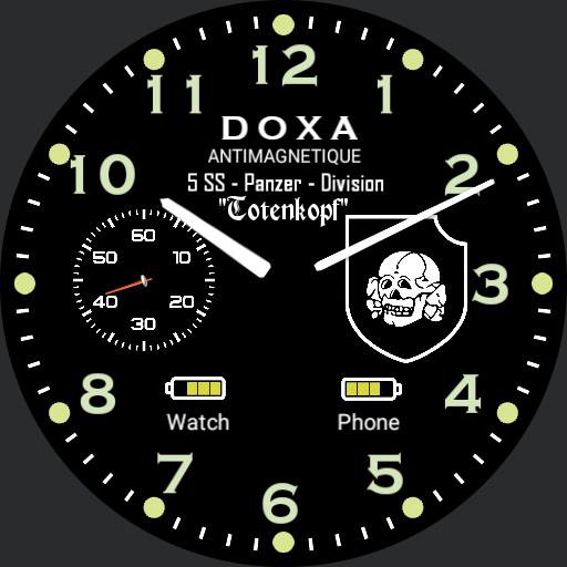 Doxa Waffen 5 ss Panzer Division Battery