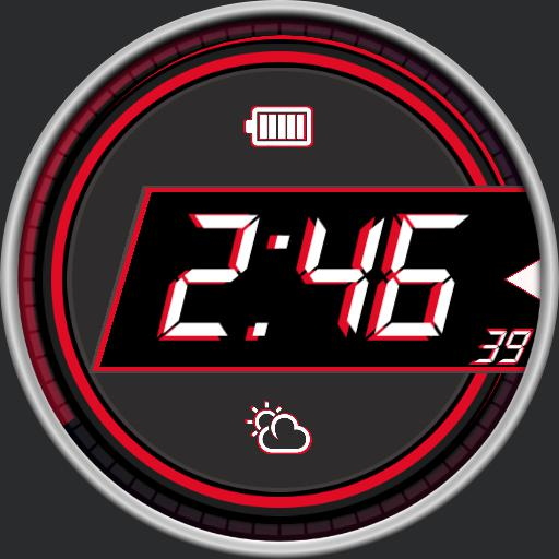 XDigital Watch Face RLW