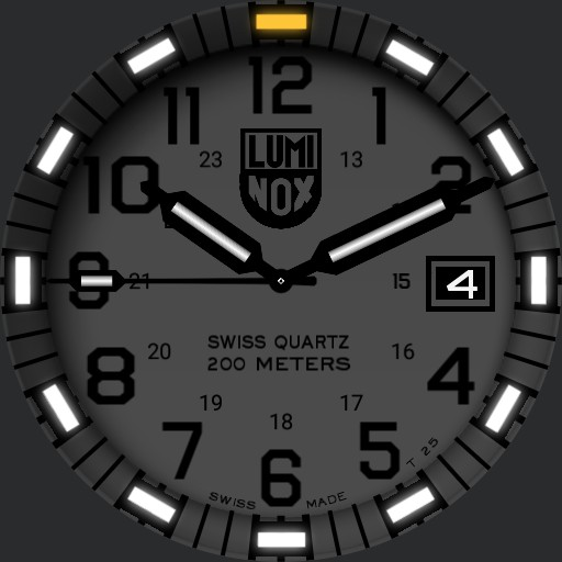 Luminox EVO Navy Seal Blackout Replica