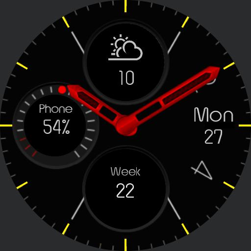Galaxy Watchface 6