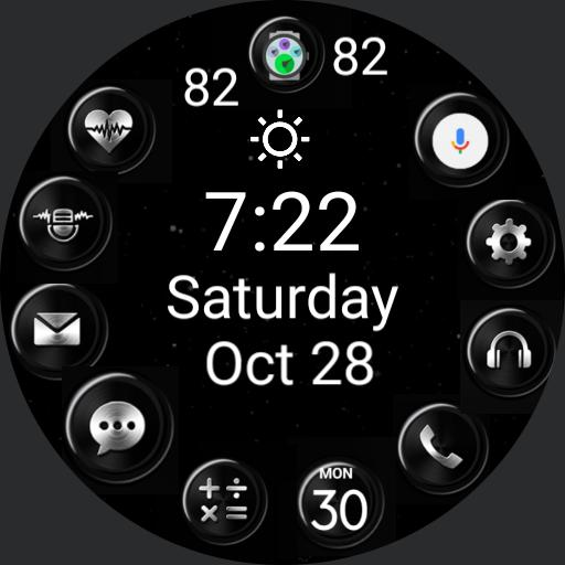 Gear S2 Dark Elegance