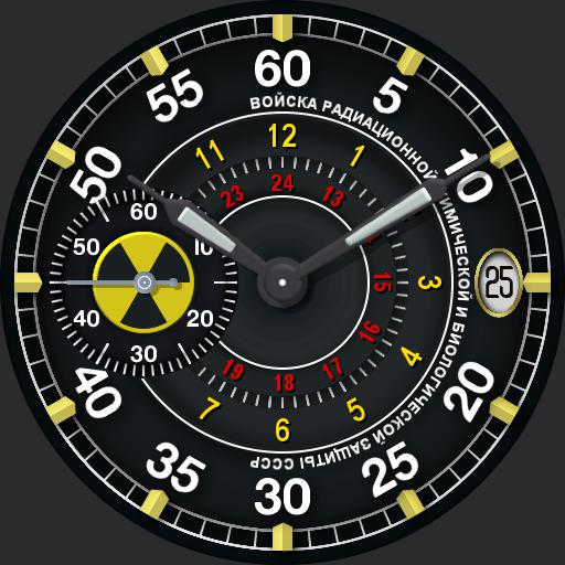 Russian Molnija - Chemical Troops V3 Black