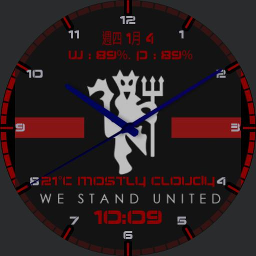 We Stand United Man Utd - Cr. to Mikey
