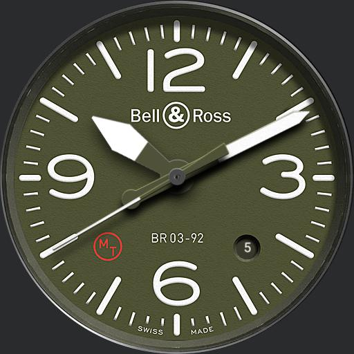 Green watchface
