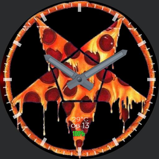 satanic pizza