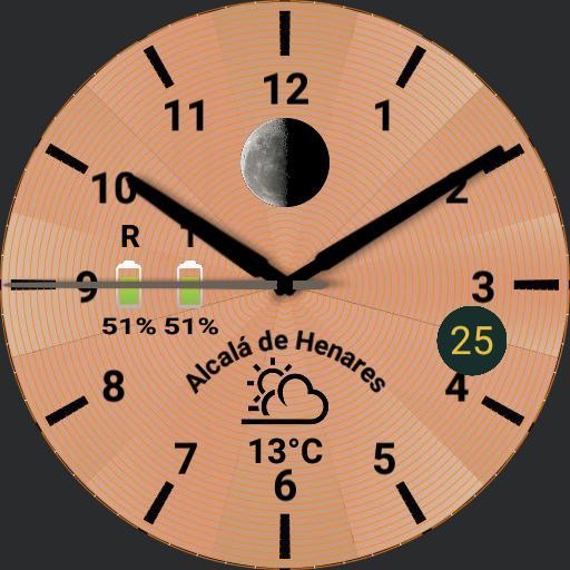 Esfera Clima 1 Oro Rosa