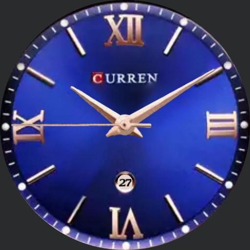 Curren Rose Gold  on Blue a exporter By Nspz_73