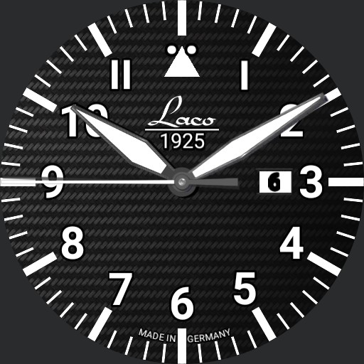 Laco Fliegeruhr Type A LUZERN Pilot Watch