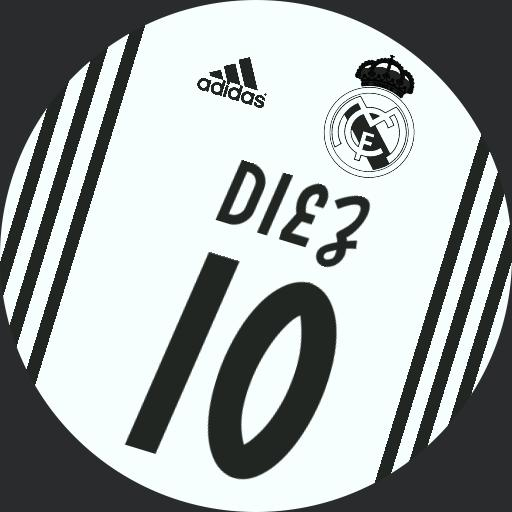 Real Madrid 2018-2019 white black Copy