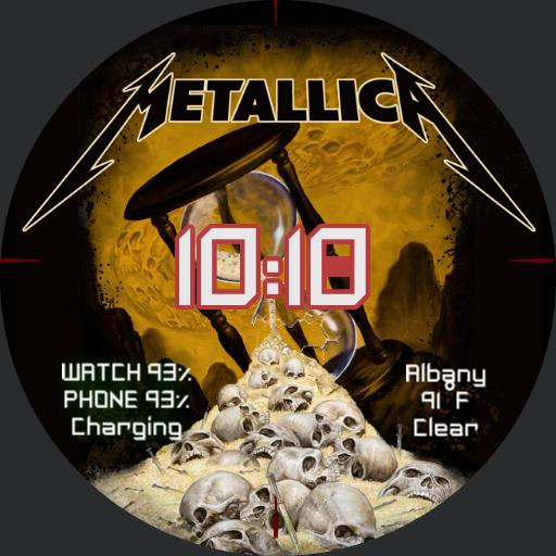 metallica - time and death