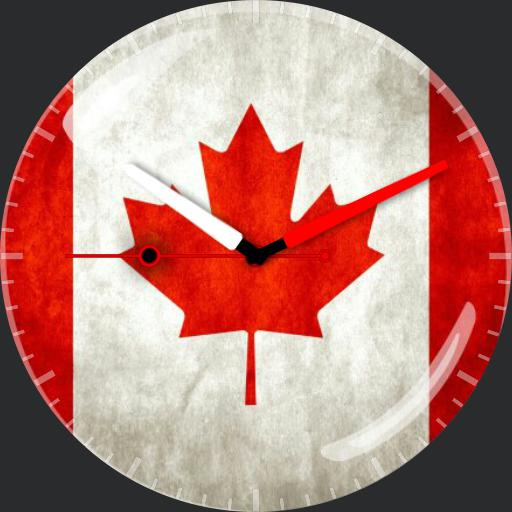 Canadian Flag Watch