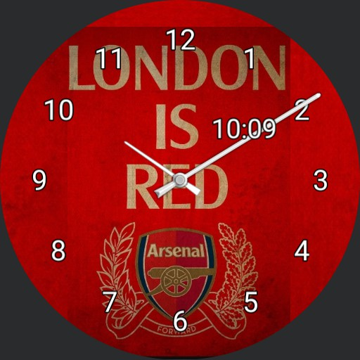 London is Red Arsenal