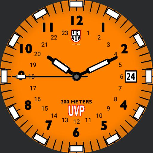 Luminox Scott Cassell UVP Orange