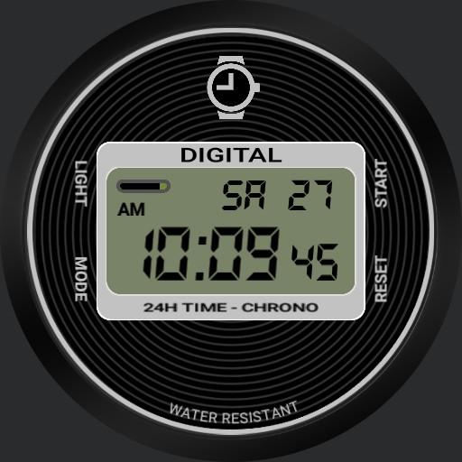 Classic Digital Watch V2