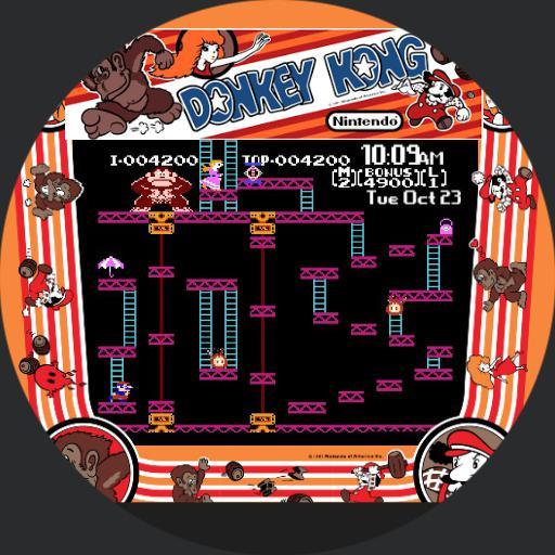 Retro Donkey Kong