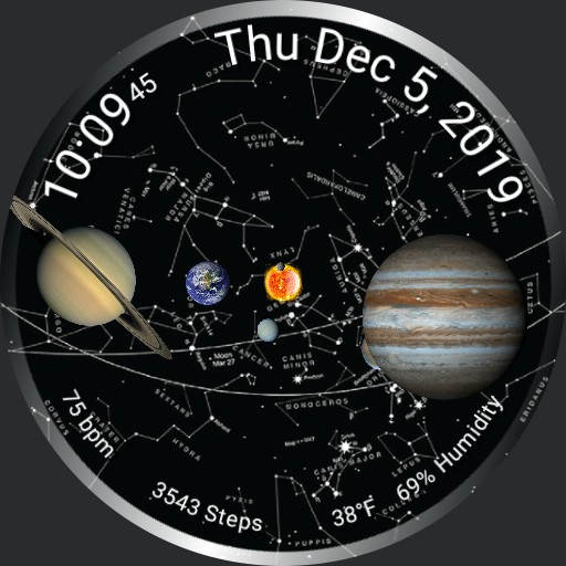 Solar System Study 2