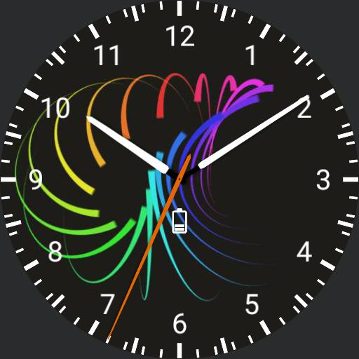 Color watch face.