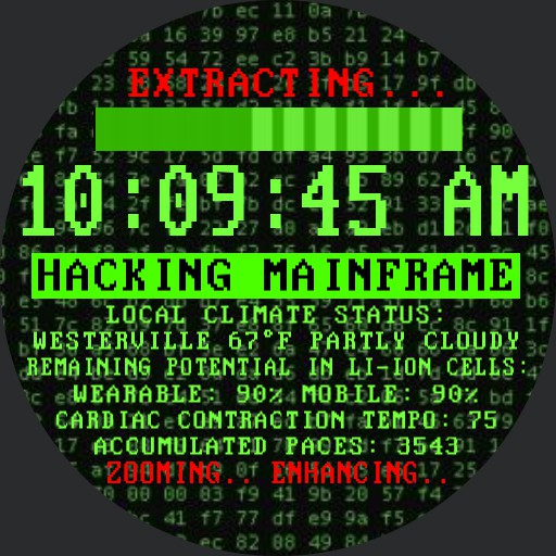 Its a UNIX system