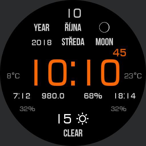Outdoor Modern Watch