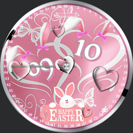 Easter Hearts Animation