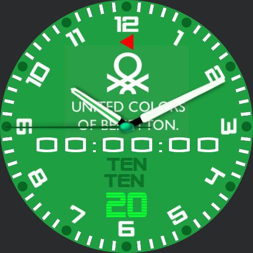 benetton stopwatch